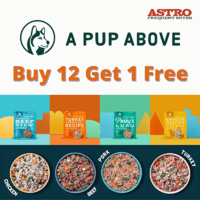 A Pup Above FB Buy 12 Get 1 Free