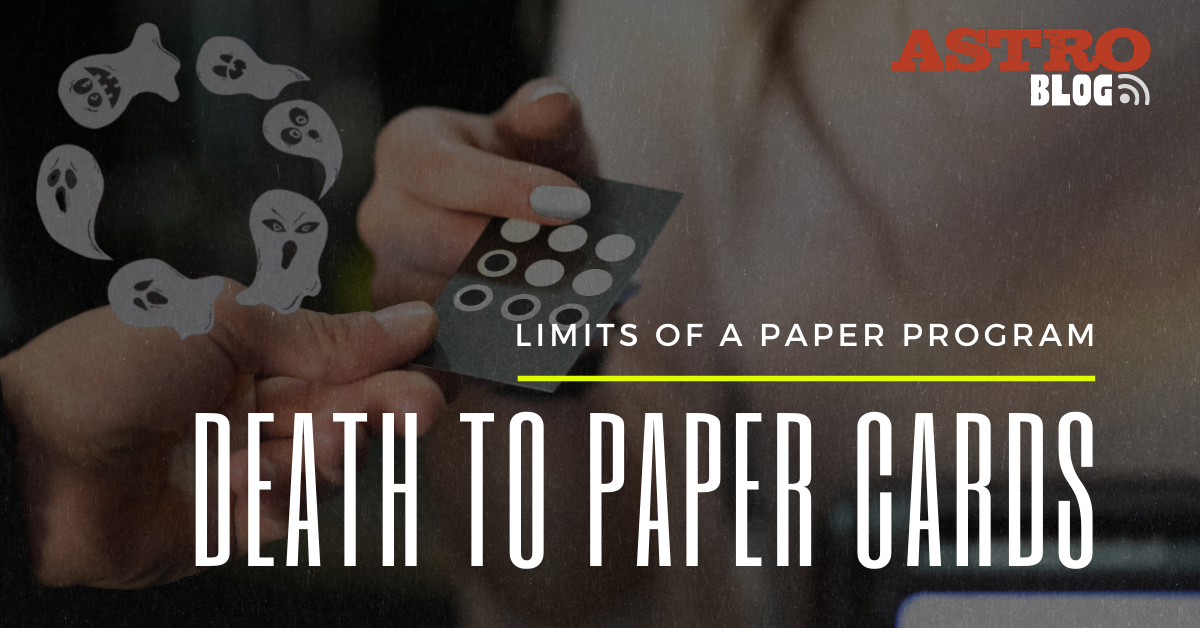 BLOG  Death to Paper Cards_Title