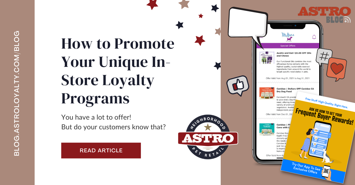 How to Promote Your Unique In-Store Loyalty Programs