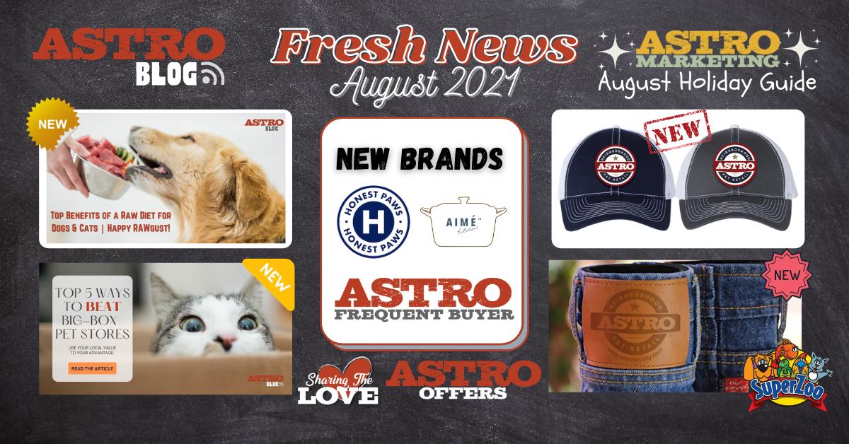 Hubspot Fresh News August 2021