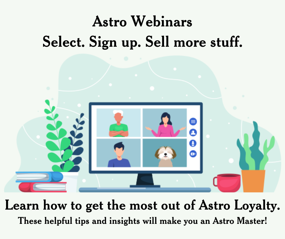 Astro Webinars Select. Sign up. Sell more stuff. (1)