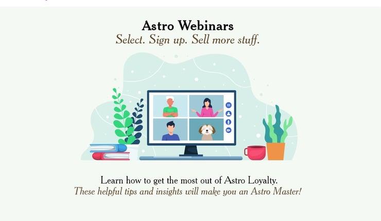 Astro Webinars