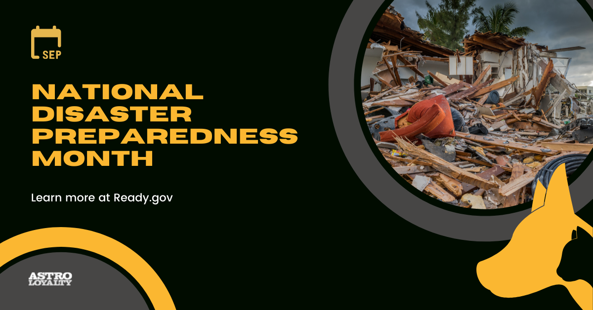 National Disaster Preparedness Month