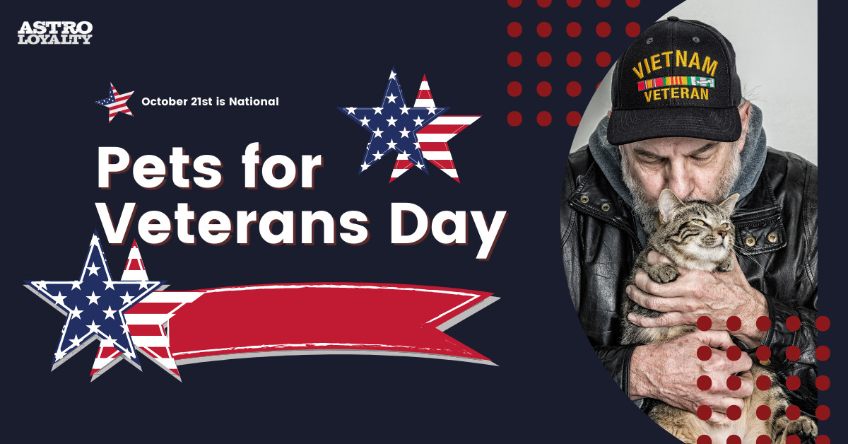 Oct. 21_National Pets for Veterans Day