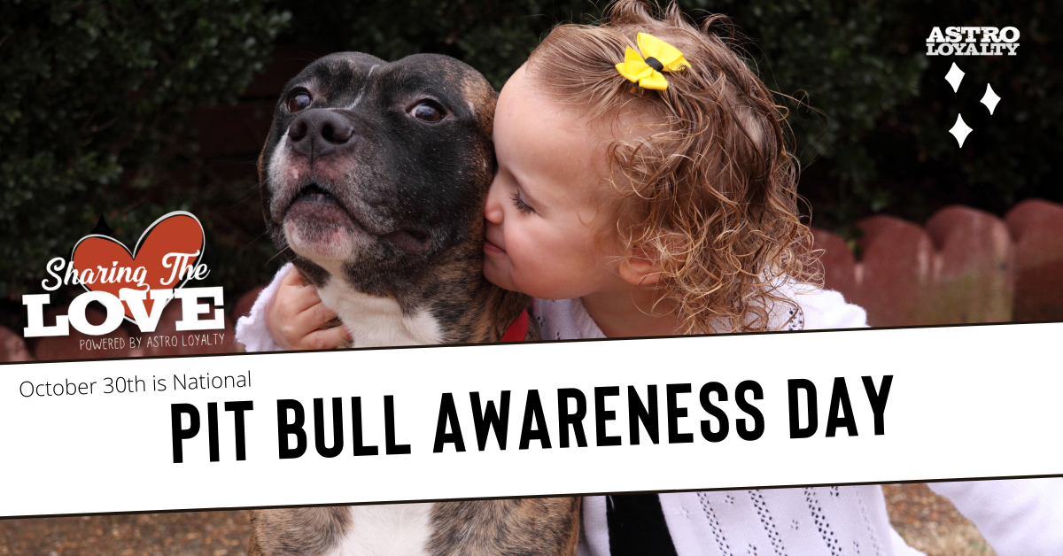 Oct. 30_National Pit Bull Awareness Day