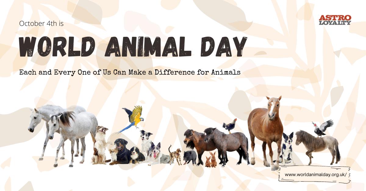 Oct. 4_World Animal Day