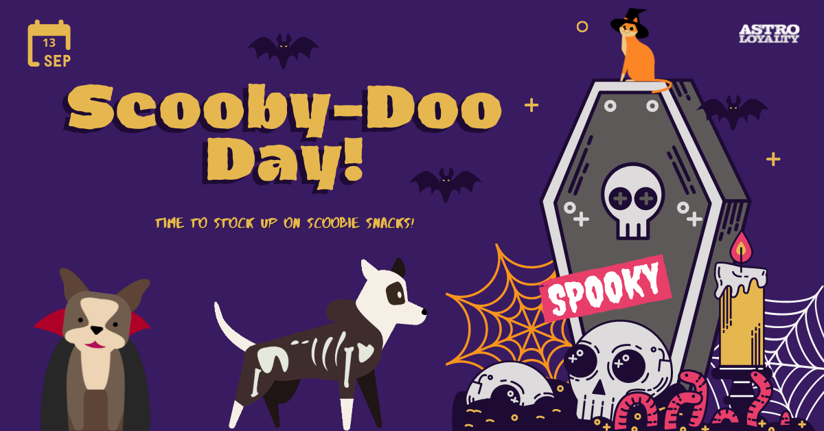 Sept. 13_Scooby-Doo Day