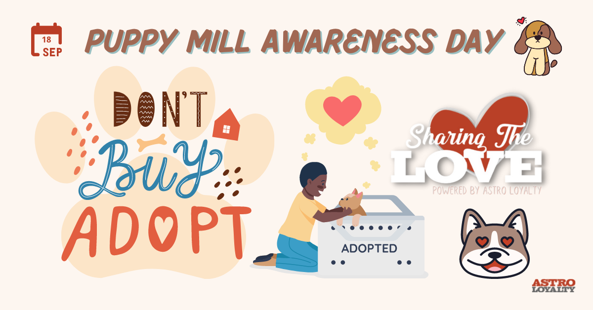 Sept. 18_Puppy Mill Awareness Day