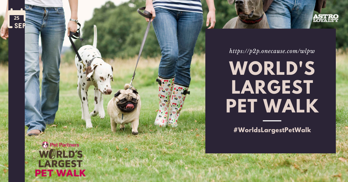 Sept. 25_World's Largest Pet Walk